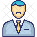 Banker Male Banker Job Icon