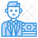 Banker Avatar Occupation Icon
