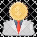 Banker Investor Financier Icon