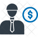 Banker Businessman Buyer Icon