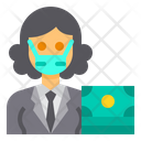 Banker Accountant Occupation Icon
