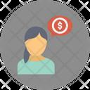 Banker Business Advice Entrepreneur Icon