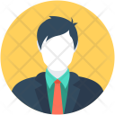 Banker Accountant Manager Icon