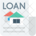 Banking Loan Agreement Icon