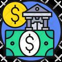 Banking Bank Dollar Icon