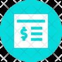 Banking Finance Portal Icon