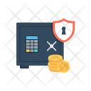 Banking Vault Bank Icon