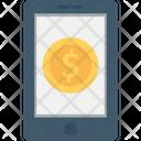 Banking Dollar Mobile Icon