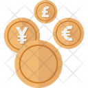 Banking Coins Conversion Icon