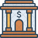 Banking Corporate Building Icon