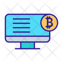 Ico Banking Bitcoin Icon