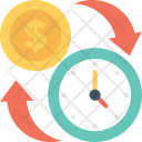 Banking Investment Time Icon
