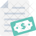 Accounting Paper Banking Icon