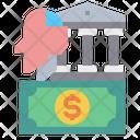 Money Bank Robot Icon