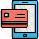 Banking Credit Card Mobile Payment Icon