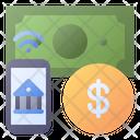 Banking Mobile Internet Icon