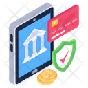 Secure Banking Safe Payment Banking App Icon