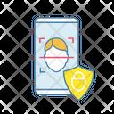 Banking App Facial Recognition Icon