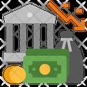 Banking Crisis Icon