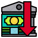 Banking Business Down Icon