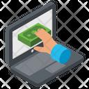 Banking Hacks Banking Breaches Bank Hacker Icon