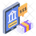 Banking App Online Banking Banking Message Icon