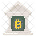 Bitcoin Bank Cryptocurrency Bank Bitcoin Institute Icon