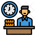 Banking Time Management Wrok Time Icon