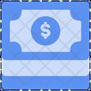 Paper Dollars Piles Icon