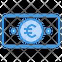 Euro Banknote Finance Icon