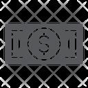 Banknote Cash Money Icon