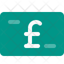 Pound Currency Banknote Icon