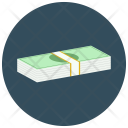 Dollar Stack Banknote Icon