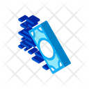 Banknote Dollar Speed Icon