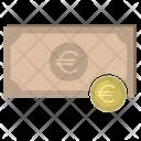 Banknote Euro Money Icon