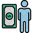 Banknote Currency Entrepreneurship Icon