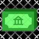Stock Bank Finance Icon