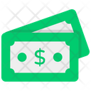 Banknotes Currency Dollars Icon