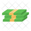 Banknotes Paper Currency Wealth Icon
