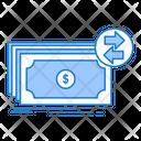Banknotes Cash Dollars Icon
