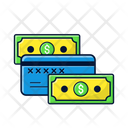 Banknotes And Card Icon