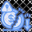 Bankrupt Bankruptcy Broke Icon