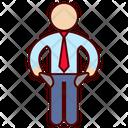 Bankruptcy Bankrupt Man Icon