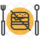 Banned Junk Food Icon