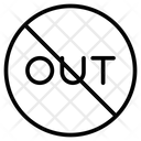 Block Banned Sign Icon