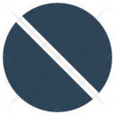 Banned Block Stop Icon