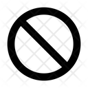 Banned Ban Block Icon