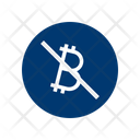 Banned Bitcoins Icon