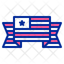Banner Flag Fourth Icon
