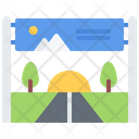 Banner Road Brand Icon